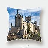 Custom Satin Pillowcase Protector The Alcazar Of Segovia Spain 338675621 Pillow Case Covers Decorative