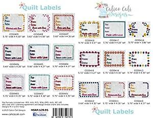Amazon Com Quilt Label Machine Embroidery Designs