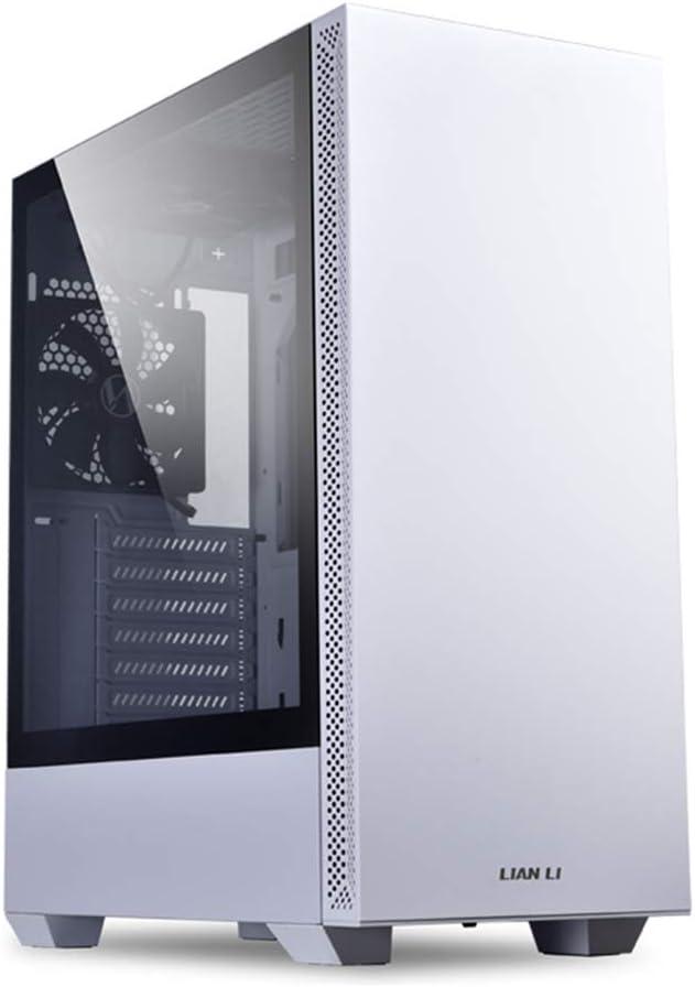 gabinete Lian Li Mid-Tower Chassis ATX LANCOOL 205 blanco