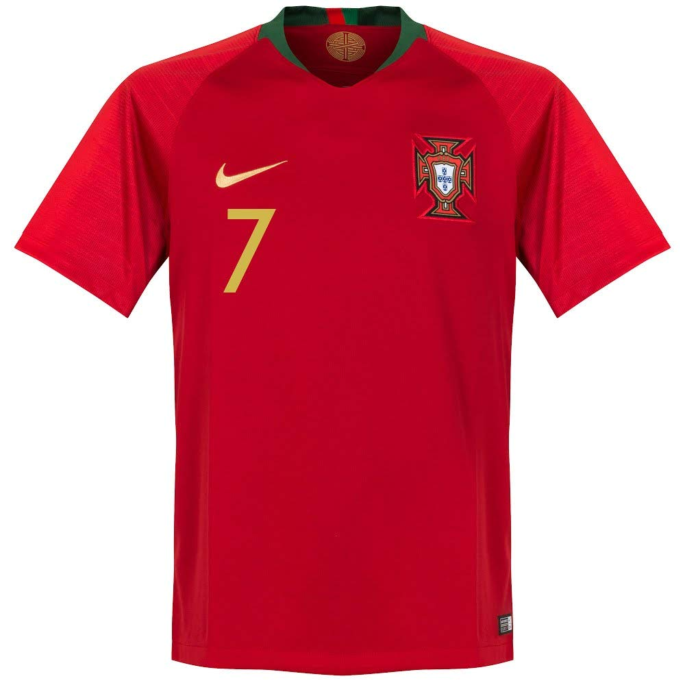 Amazon.com: Nike Portugal Home Ronaldo Jersey 2018/2019 ...
