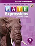 Math Expressions: Homework & Remembering, Volume 2 Grade 3