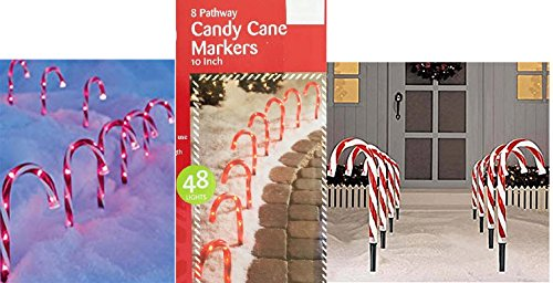 Candy Cane Lights Pathway - 8