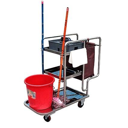 Carrito YXX Servicio de Limpieza Comercial con Ruedas ...