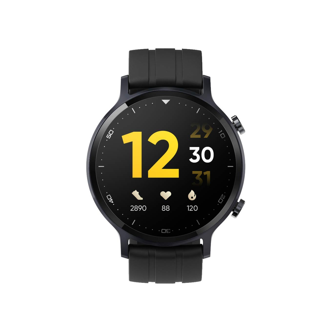 "realme Watch S with 1.3"" TFT-LCD Touchscreen, 15 Days Battery Life, SpO2 & Heart Rate Monitoring, IP68 Water Resistance"