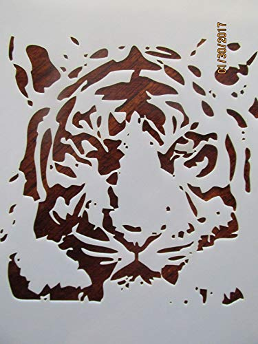 OutletBestSelling Reusable Sturdy Tiger Stencil Reusable 10 mil ()