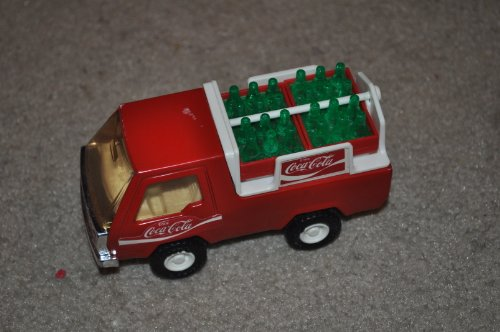 VINTAGE 1970-80's BUDDY L 5 INCH PRESSED STEEL COCA COLA TRUCK