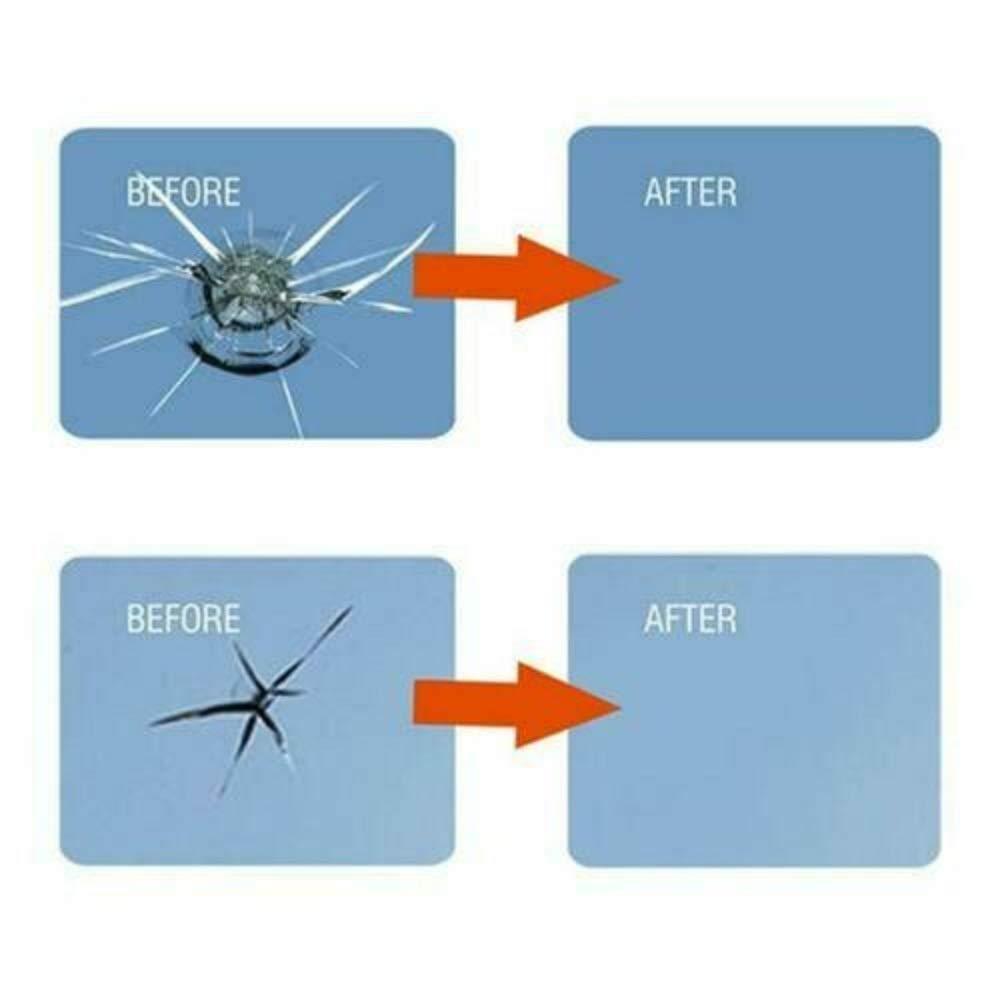Kit di strumenti per riparazione di fessure per vetri in vetro per vetri fluidi per riparazione di vetri per automobili 3