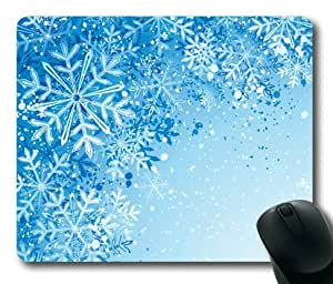 Lilyshouse Snowflake Design 008 Rectangle Mouse Pad by ruishername