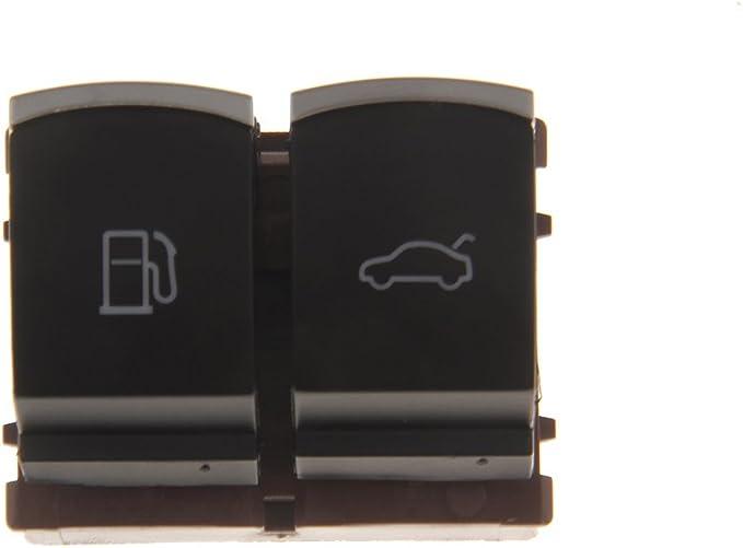 Desconocido Puerta Tanque de Gas Combustible Y Apertura Maletero Interruptor de Bot/ón para VW CC Jetta Passat