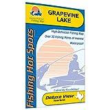 Grapevine Lake Fishing Map