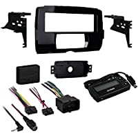 METRA 99-9700 2014 & Up Harley-Davidson(R) Street Glide, Electra Glide & Ultra Limited Models Single-DIN Installation Kit, Black