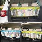 New Car Back Seat Organizer Auto Travel Multi-Pocket Holder Storage Bag 6 Layers Car Stowing Tidying