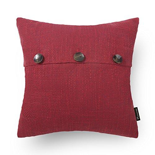Phantoscope Decorative Pillow Cushion 3 Button