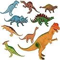 子供のための教育用プラスチック盛り合わせの恐竜のおもちゃフィギュア - 9パック、#11