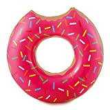 Summer Palms Jumbo Frosted Donut Tube Float, 48
