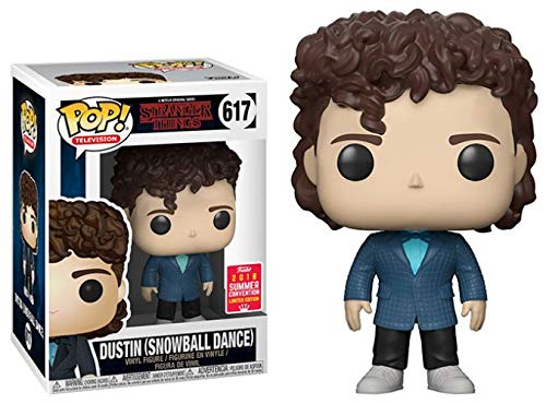 Stranger Things Dustin Snowball Dance Summer Exclusive 2018 Funko Pop