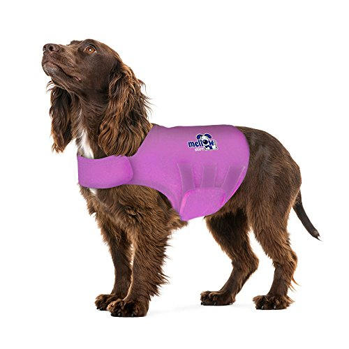 Image of Mellow Shirt Dog Anxiety Calming Wrap, Large, Radiant Orchid