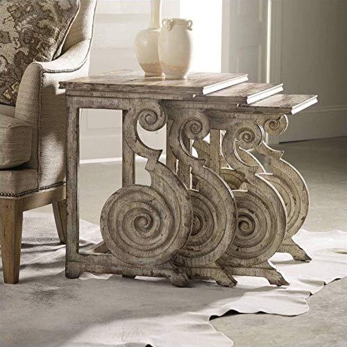 Hooker Furniture Rhapsody Nest of Tables in Rustic Pine by Hooker Furniture