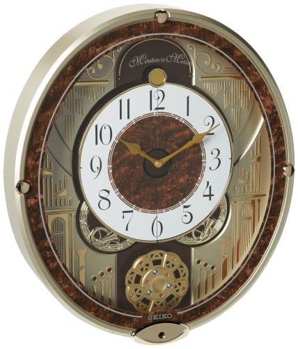 - Seiko Melodies In Motion Swarovski Crystallized Clock