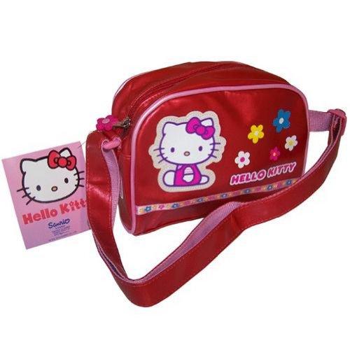 Hello Kitty rosso piccolo borsa a tracolla