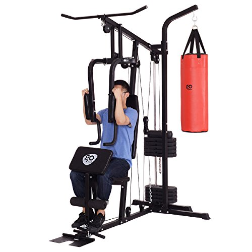 Goplus 100 Lb Stack Home Gym Exercise Equipment Machine
