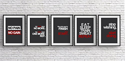 Fitness Motivation Poster Pack