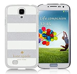 Luxurious And Nice Designed Kate Spade Samsung Galaxy S4 I9500 i337 M919 i545 r970 l720 White Phone Case 011