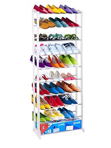 Shoe Wheel Storage for 12 Pairs (Pink) - 7