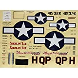 GREAT PLANES Decals P-51 Mustang Sport Fighter .46/EP ARF GPMA5373