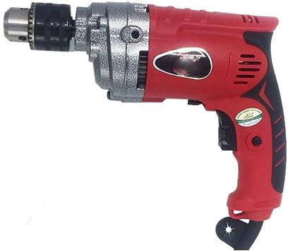 Taladro de pistola de alta potencia, taladro eléctrico portátil de herramientas de taladro for mejoras del hogar caja herramientas: Amazon.es: Bricolaje y herramientas