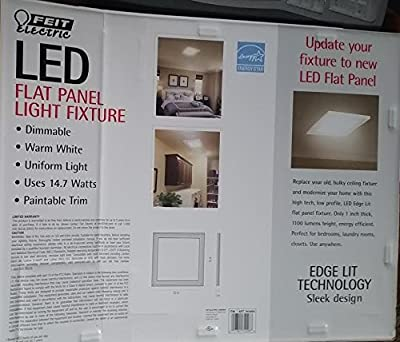 LED Flat Panel Light Fixture