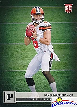 f77c8f5ab BAKER MAYFIELD 2018 Panini Football Canvas Short Print ROOKIE Card   308 !  Shipped in Ultra Pro Top Loader to Protect it! Cleveland Browns Top NFL  Draft ...