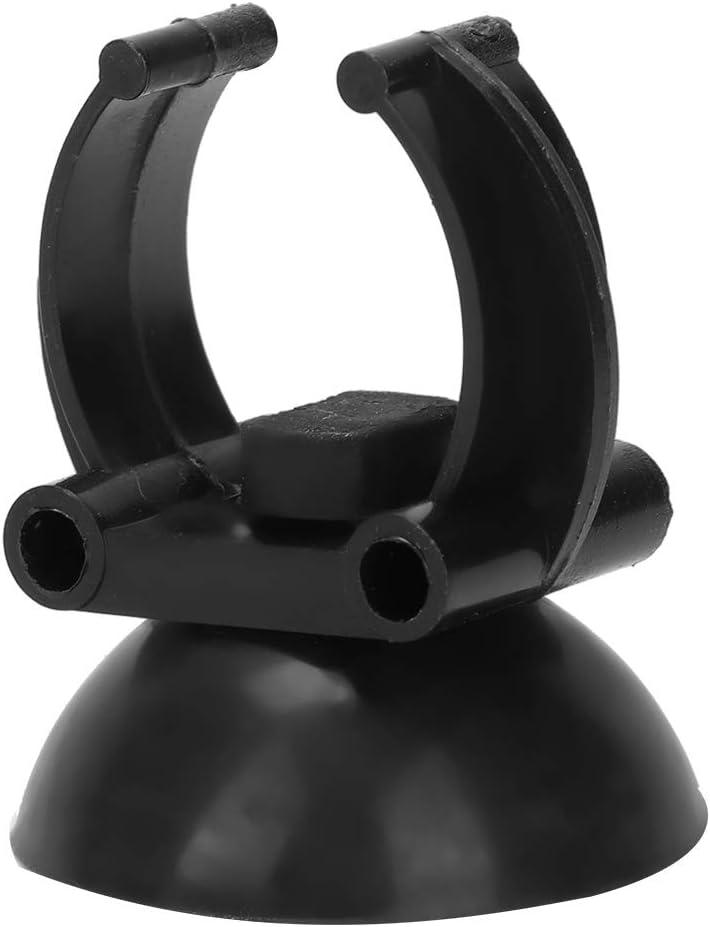 per tubi in PVC Soonhua con ventosa Set di 20 fermatubi per acquario tubi per tubi