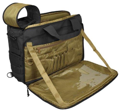 Hazard 4 MOD Laptop Messenger/Briefcase/Go-Bag with Molle, Black by HAZARD 4 (Image #4)