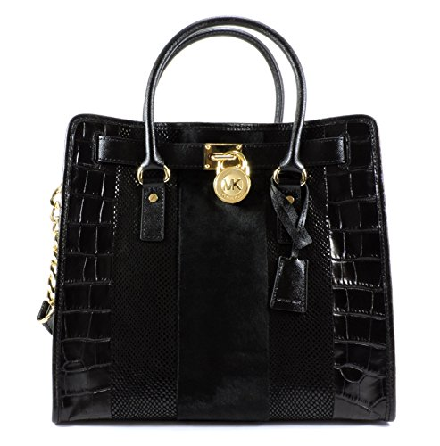 Zip Calf Leather Large Tote - 1