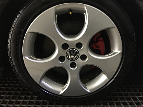 Autowcc 55MM Wheel Hub Caps Sticker VW 2.16inches Emblem Badge Sticker Centre Cover for Volkswagen