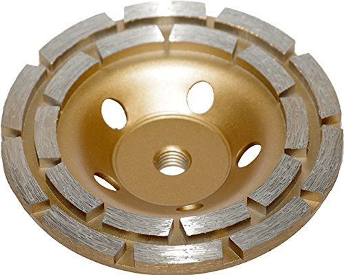 Diamond Cup Grinding Disc Diameter 125  mm M14  –   Concrete Grinder Granite 8787 MAR-POL