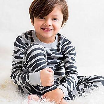 GOTS Certified 100/% Soft Organic Turkish Cotton Skylar Luna Boys Long Sleeve Pajama Set