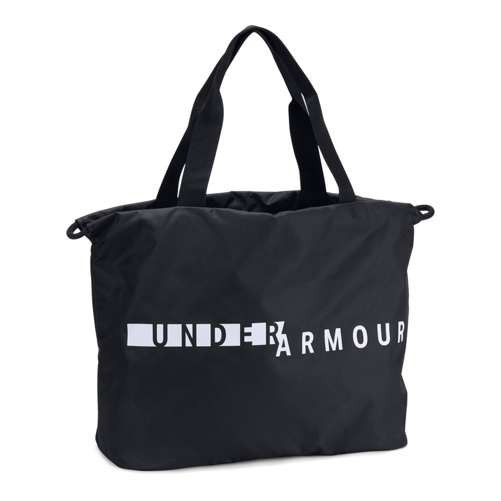 Under Armour Women's Favorite Tote Bag, Black (002)/White, One Size