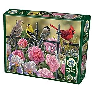 Cobblehill 80114 1000 Pc Uccelli Su Una Recinzione Puzzle Vari