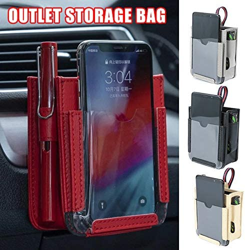 Eihan Multifunctional Car Pocket Automotive Air Vent Mobile Phone Storage Pouch Small Bag