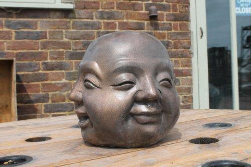 Ornate Stone Small Four Faces Of Buddha Garden Ornament Statue:  Amazon.co.uk: Garden U0026 Outdoors