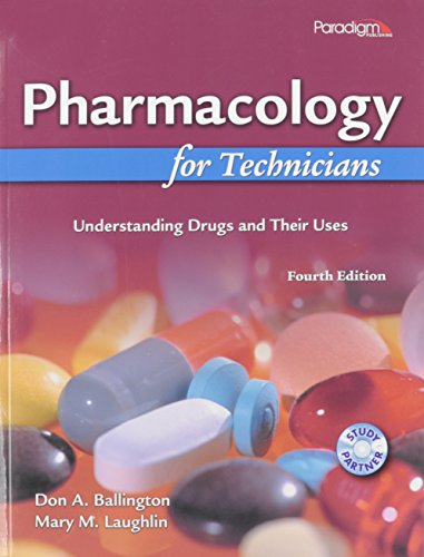 Pharmacology for Technicians Package: Textbook, Workbook and Pocket Guide