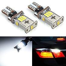 JDM ASTAR 1000 lumens Extremely Bright Error Free 360-Degree Shine 921 912 GX-3020 Chipsets LED Bulbs For Backup Reverse Lights, Xenon White