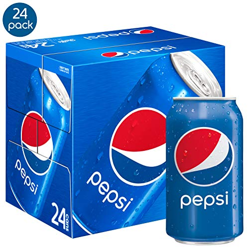 Pepsi Soda, 12 Ounce (24 Cans) (Packaging May Vary)