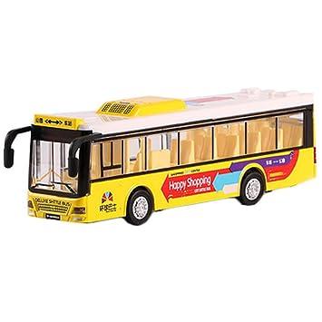 Regalo Coche Juguete Niños Autobús Modelo Aleación Para Niño 9DI2EH
