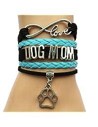 DOLON Infinity Love Photography Bracelet Camera Charm Vintage Wrap Leather Hobby Jewelry