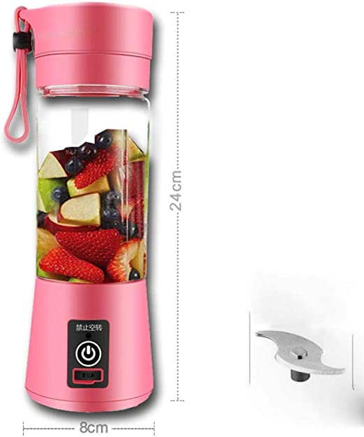 Juicer Cup,Portable Travel Juicer Bottle, Usb Juicer Cup,Fruit ...