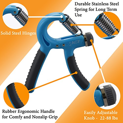Toys For Stroke Recovery : Acf hand grip strengthener strength trainer adjustable