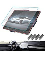 """Model 3/Y Center Screen Protector Model 3 Model Y 15"""" Center Control Touchscreen Car Navigation Touch Screen Protector Tempered Glass 9H Anti-Scratch and Shock Resistant for Model 3 Screen Protector"""